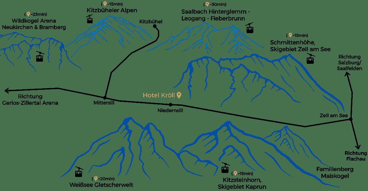 skigebietekarte region